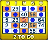 king jackpot 75 ball bingo card