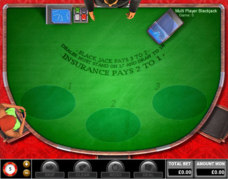king jackpot multiplayer blackjack online casino game