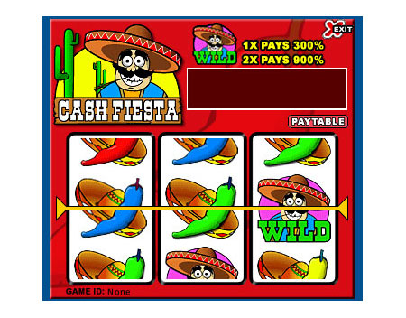 king jackpot cash fiesta 3 reel online slots game