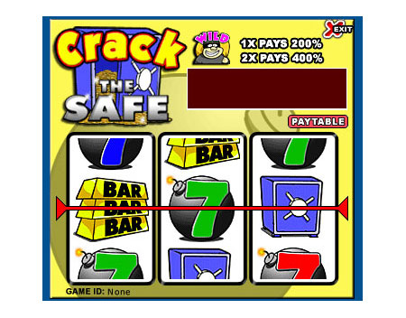 king jackpot crack the safe 3 reel online slots game