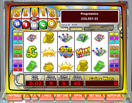 king jackpot slots of bingo 5 reel online slots game